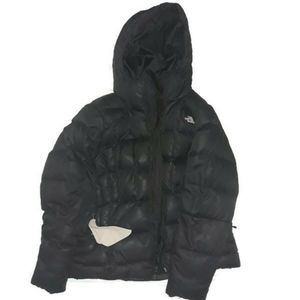 The North Face puffer goose down hooded Jacket